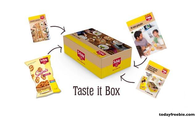 free samples box of gluten free schar products free stuff