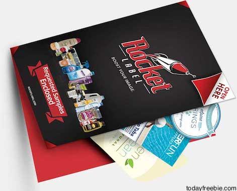FREE Rocket Label Sample Kit | Free Stuff / Freebies / Free
